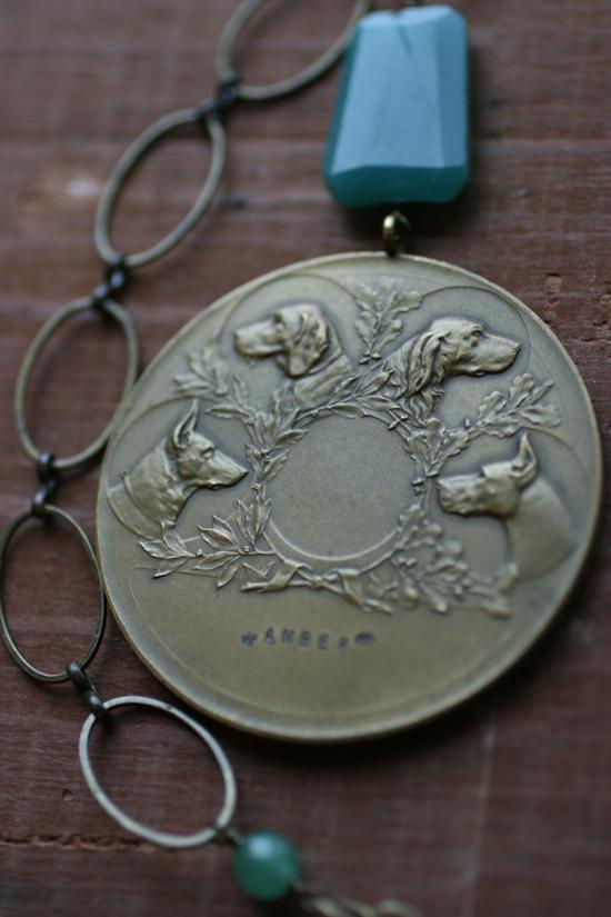Amber's medal